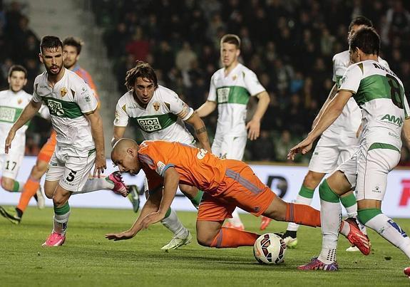 Elche 0-4 Valencia