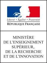 Image result for Ministère de l'Enseignement supérieur, de la Recherche et de l'Innovation
