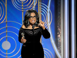 Image result for oprah winfrey golden globe