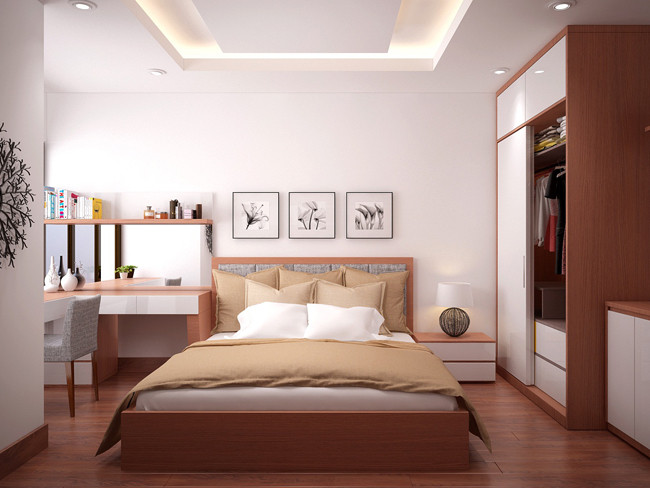 Giường không nên vừa hẹp vừa dài khí sẽ khó lưu thông