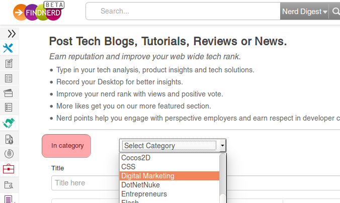 How to Write & Submit a Guest Blog Post on FindNerd with SEO Focus