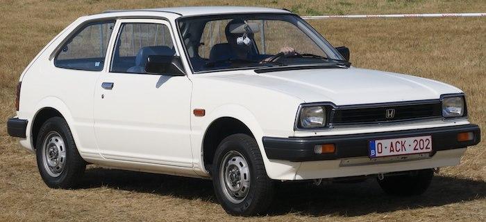 Honda Civic โฉม2 ปี 1979–1983