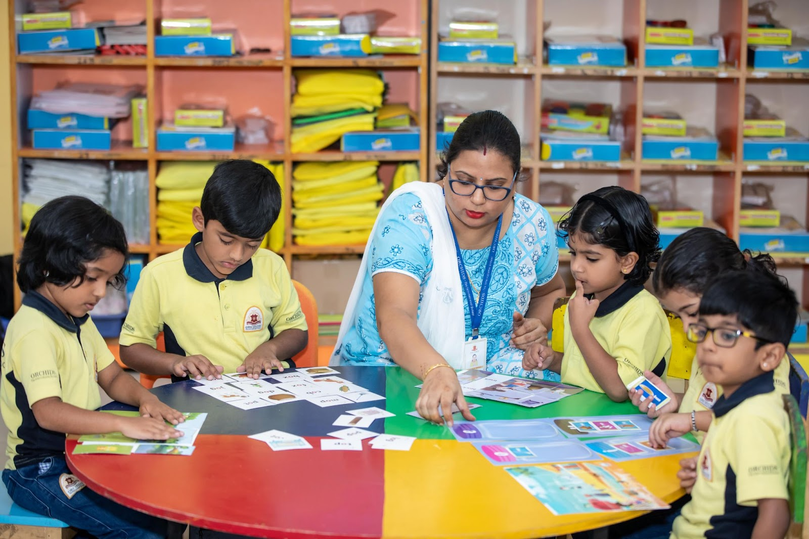 extracurricular activities conducted at Orchids after-school