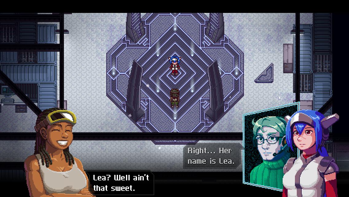 CrossCode Lea screenshot