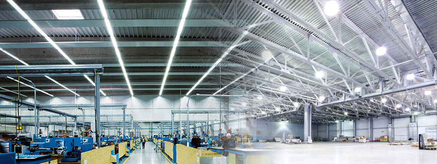 Ứng dụng bóng đèn LED bulb Mycare Philips tại nhà xưởng