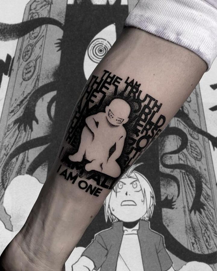 Fullmetal Alchemist Tattoo