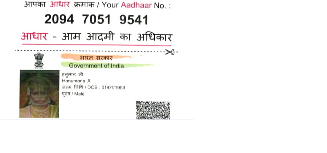 Fake aadhar cards in india