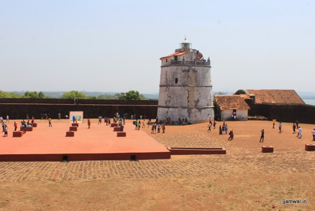 Fort Aguada and lighthouse
