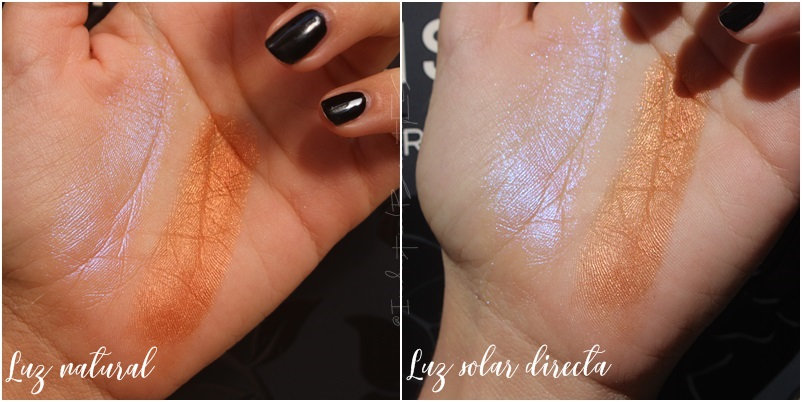 poison garden swatches luz natural