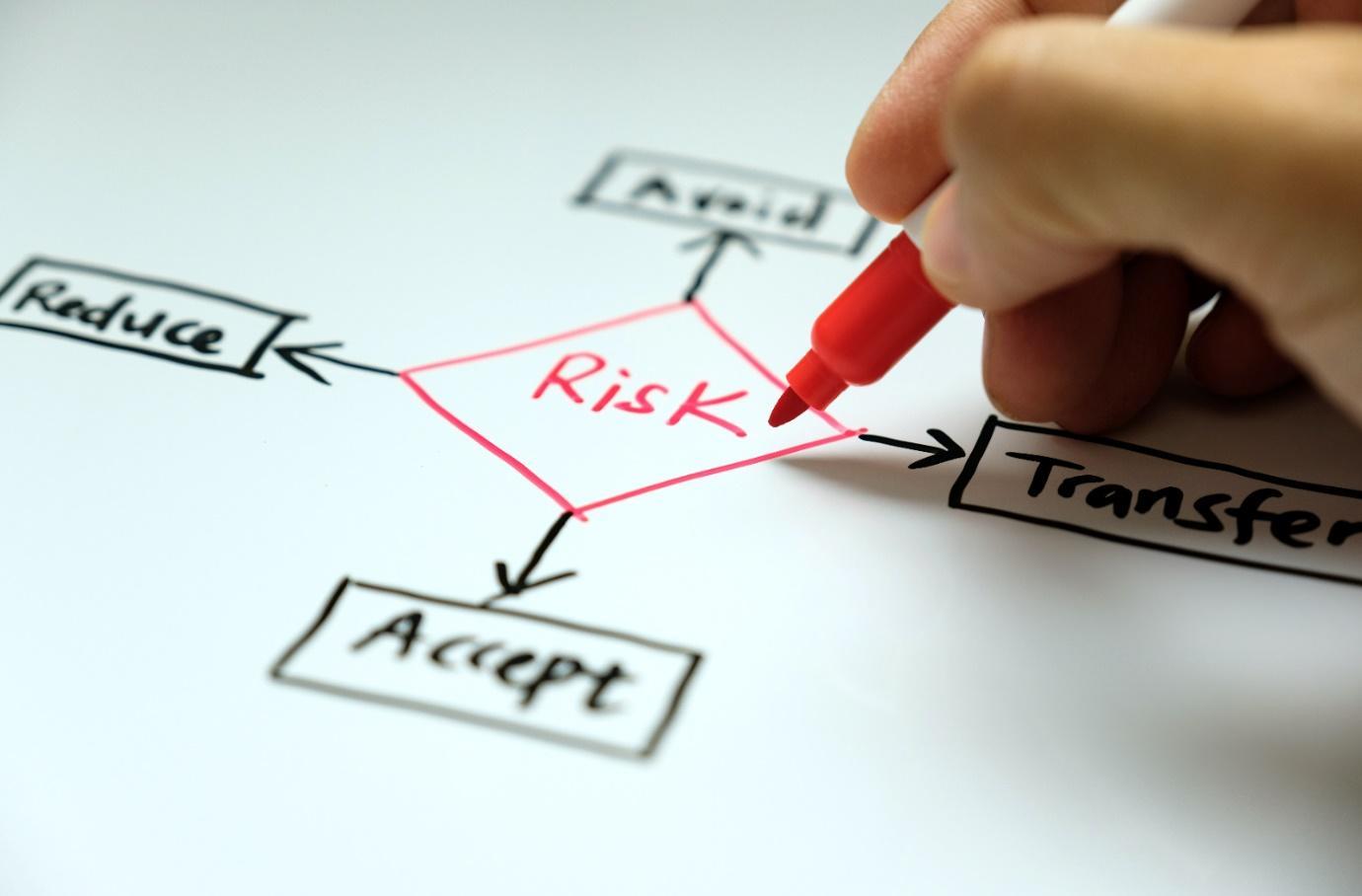 mitigating risks diagram