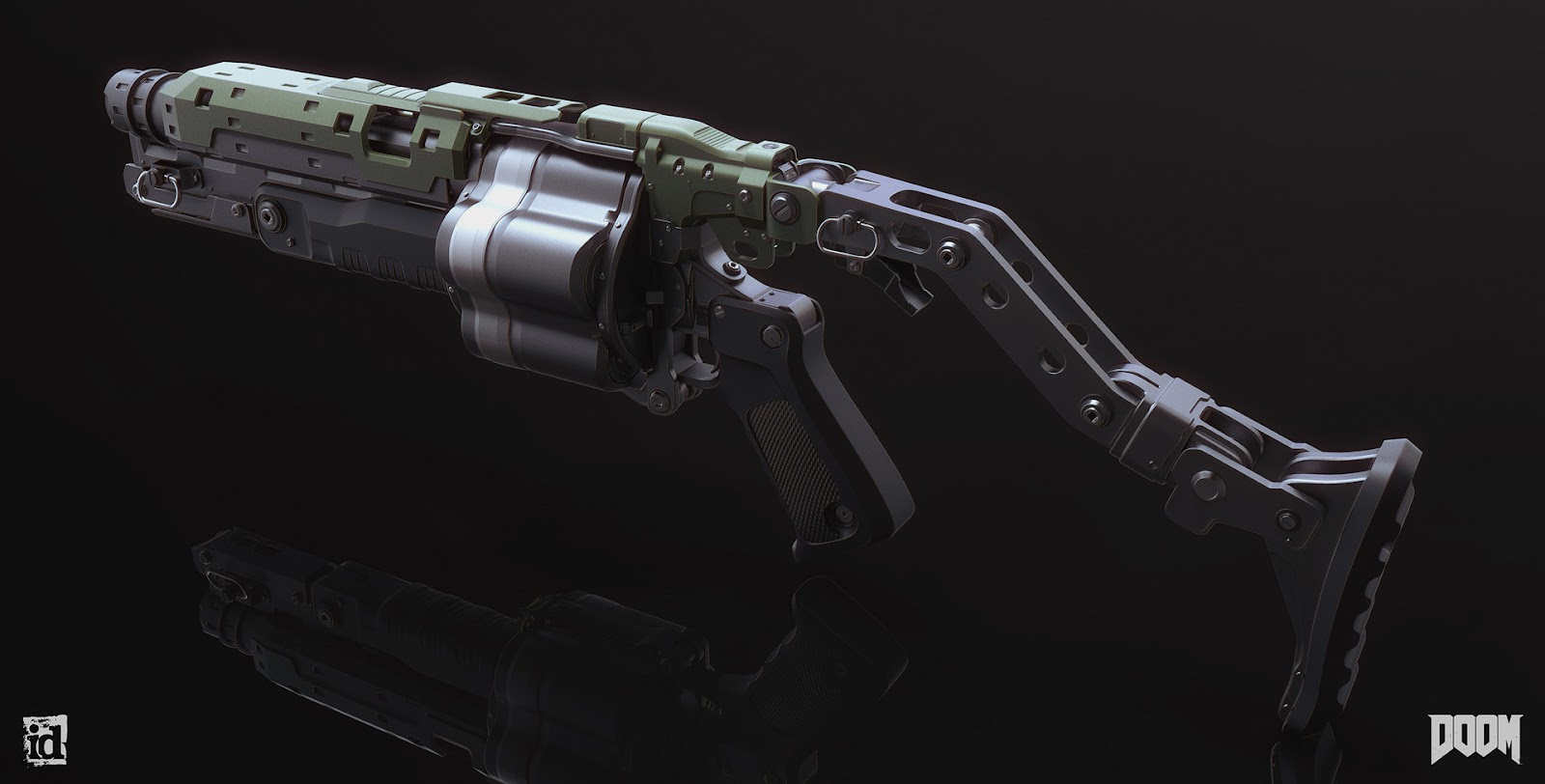 Image result for grenade launcher concept art