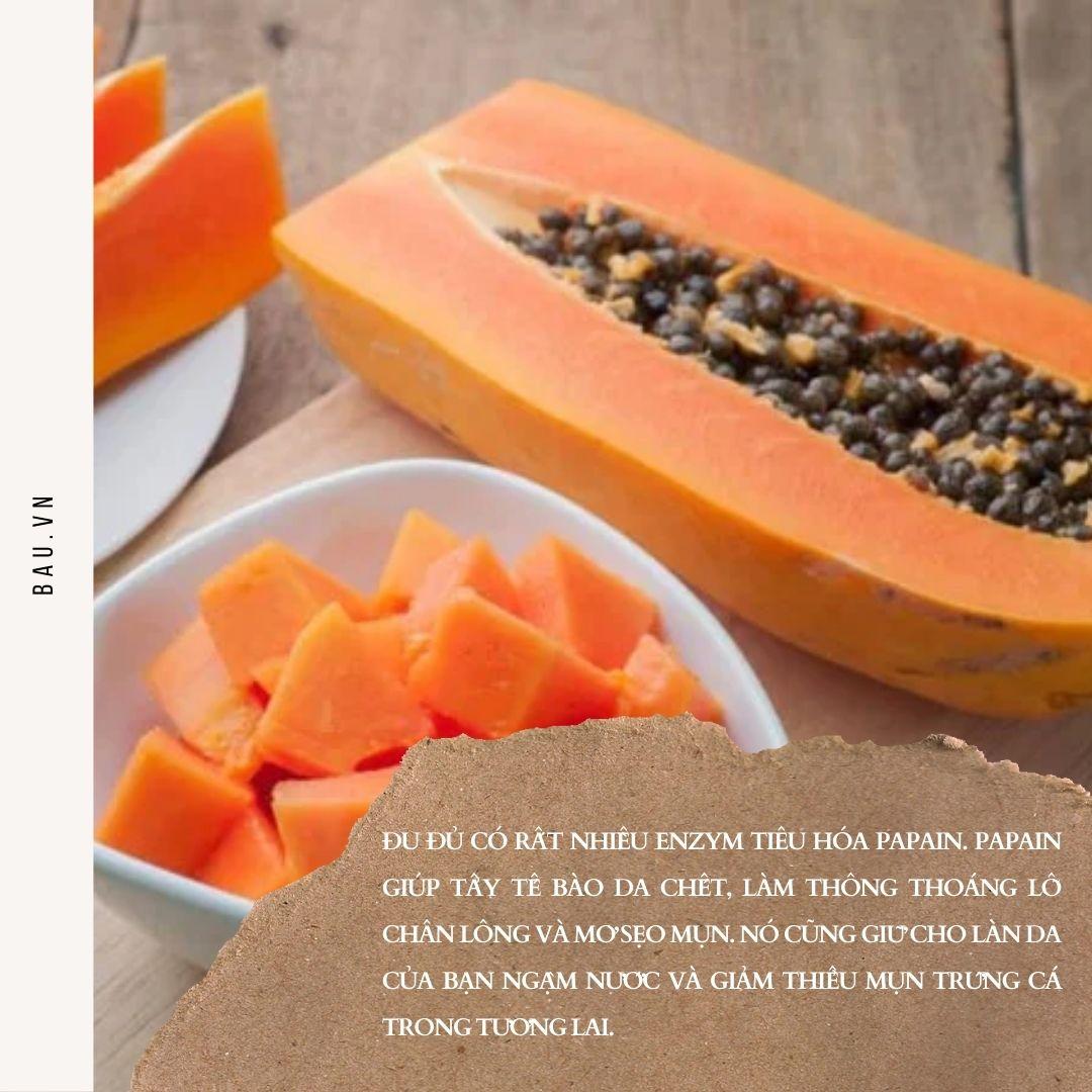 Những loại thực phẩm giúp chị em da khỏe đẹp và giảm thâm mụn - ảnh 1