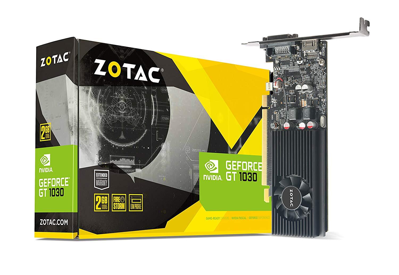 ZOTAC GeForce GT 1030 2GB GDDR5 64-bit Graphics Card
