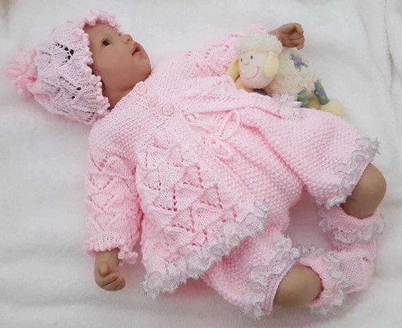 Najnowsze Ubranka dla dzieci handmade na drutach schematy: 30+ najpięknych CX42