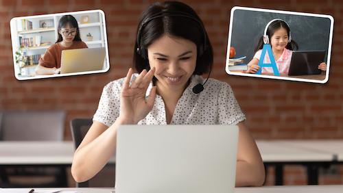 Giáo viên dạy online – một việc làm online giúp bạn kiếm thêm thu nhập