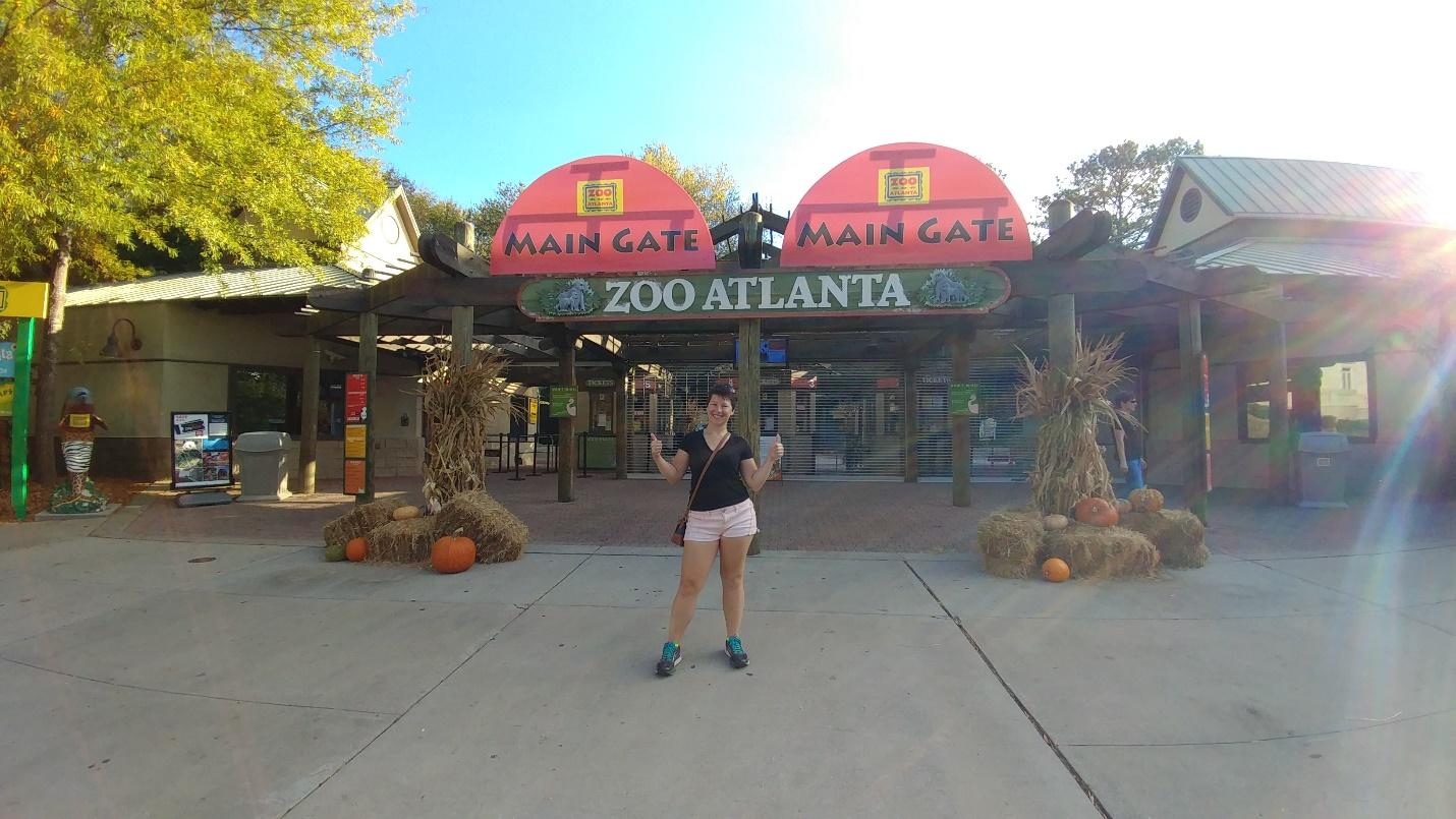 Zoo Atlanta - Author Photo