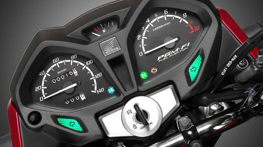 motorcycle dashboard