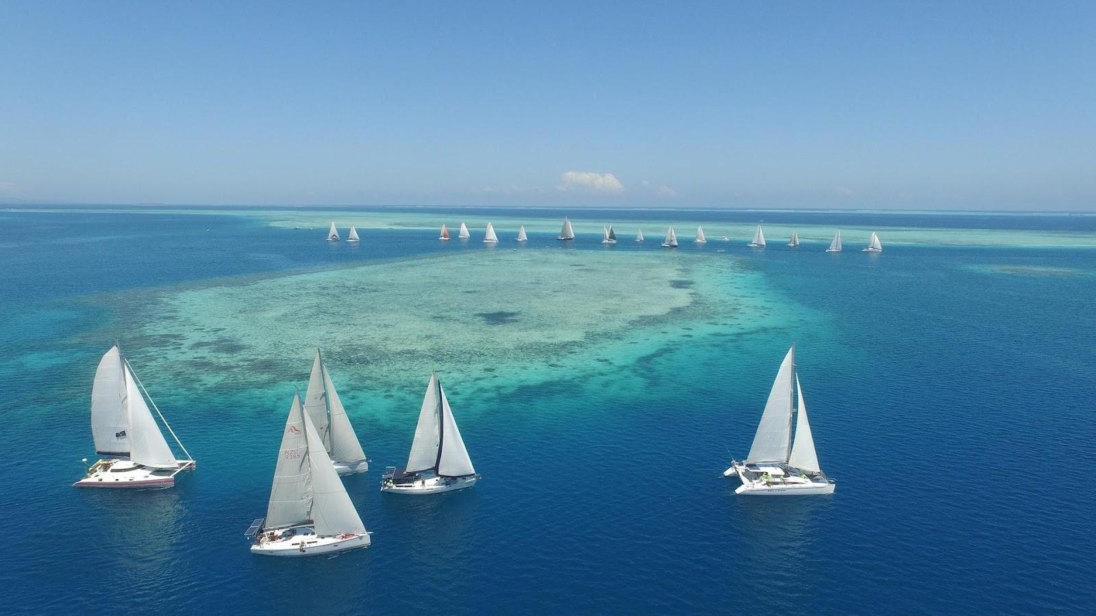 Отдых на яхте на островах Фиджи