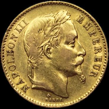 pièce de napoléon d'or