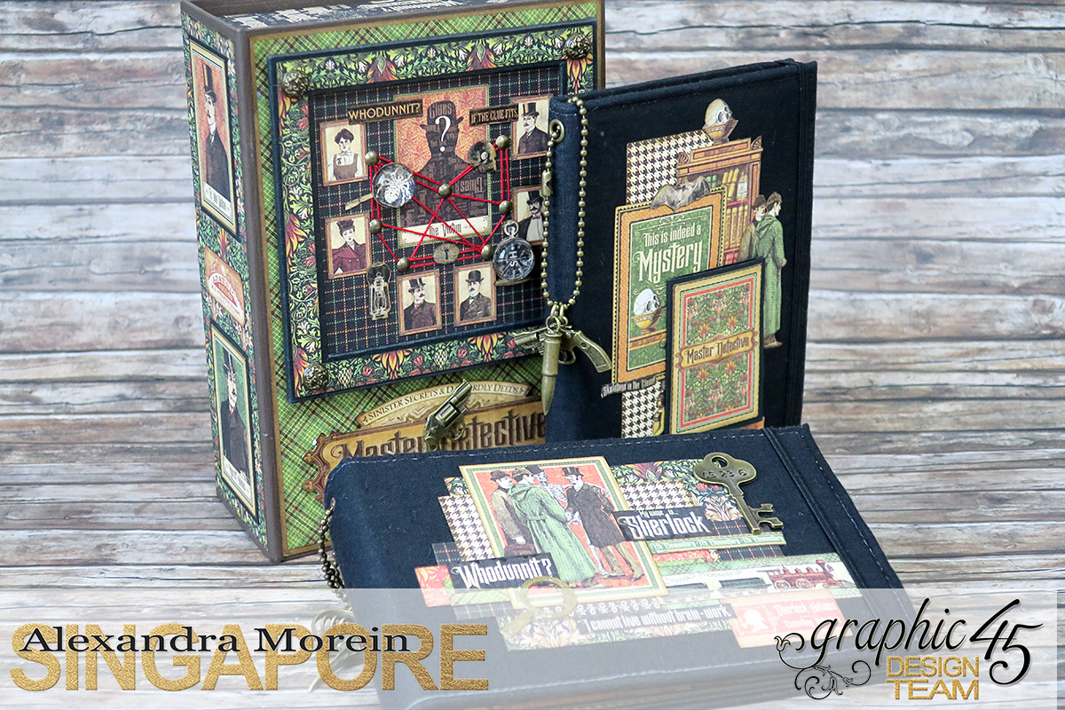 Master Detective Box and Albums, Project by Alexandra Morein, Product by Graphic 45, Photo 0.jpg