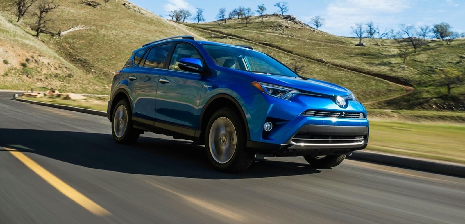 2016 Rav4 in Blue | Toyota dealership serving Burnaby, Vancouver and New West
