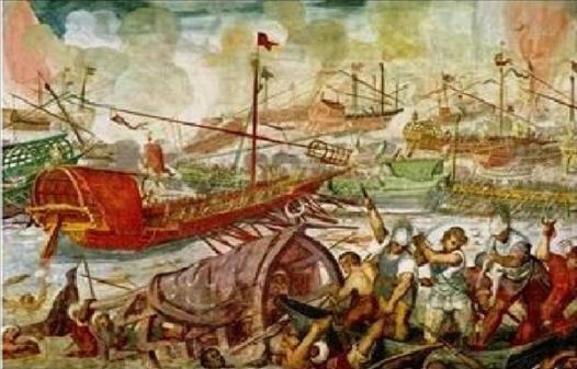 C:\Users\NF\Desktop\ΝΑΥΜΑΧΙΑ ΑΚΤΙΟΥ. The Battle of Actium, 2 September 31 BC, Πίνακας ζωγραφικής. Paint 03.jpg