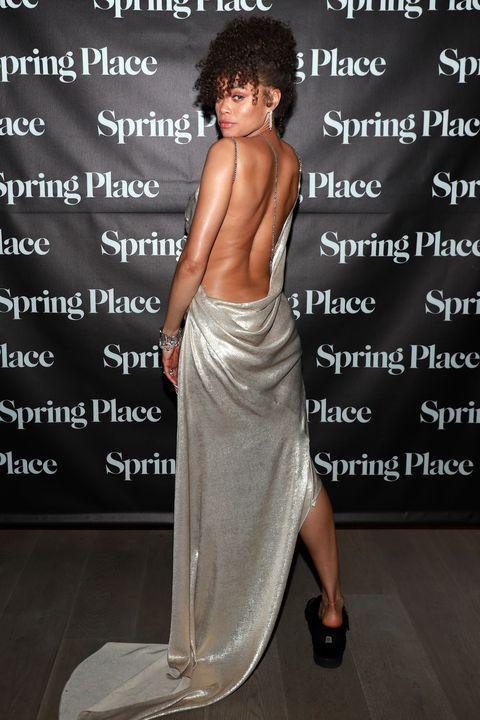 oscars 2021 after party fashion, celebrity fashion, awards fashion, oscar red carpet fashion,