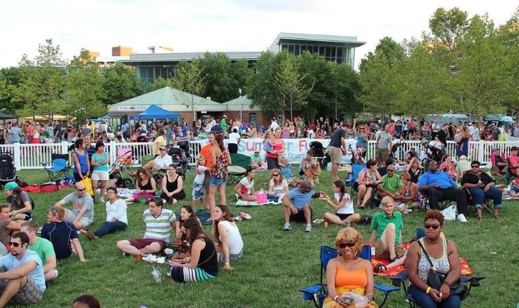Living in Baltimore affords lovely Summer days in the park.