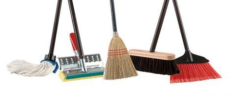 How Do You Organize Mops and Brooms?
