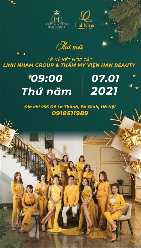 Linh Nham Group ký kết hợp tác với Viện thẩm mỹ quốc tế Han Beauty - Ảnh 1