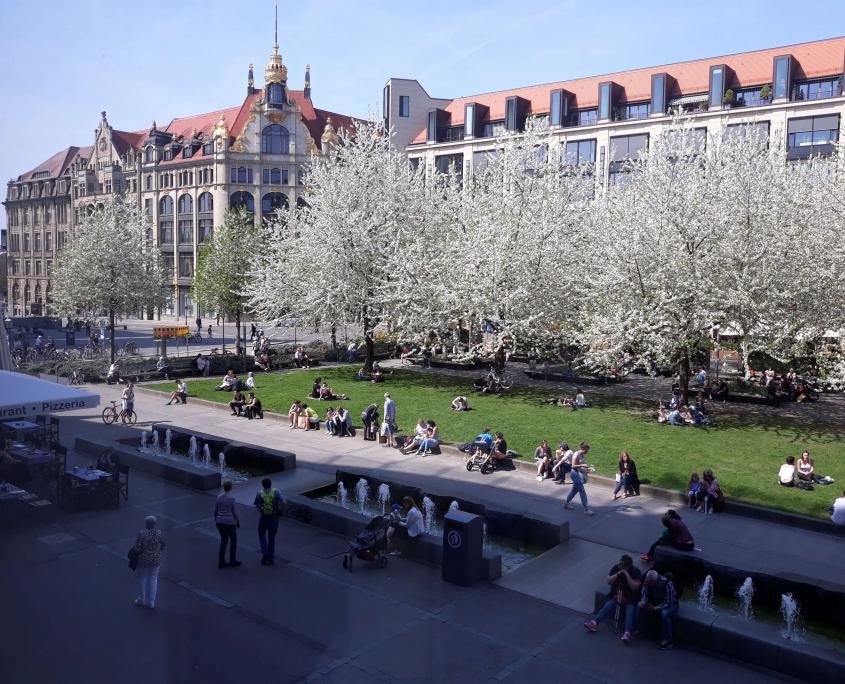 Tổng quan về nước Đức: Hình ảnh đẹp nước Đức vào mùa xuân