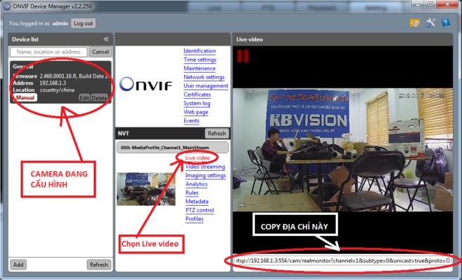 Hướng dẫn thêm Camera IP vào đầu ghi