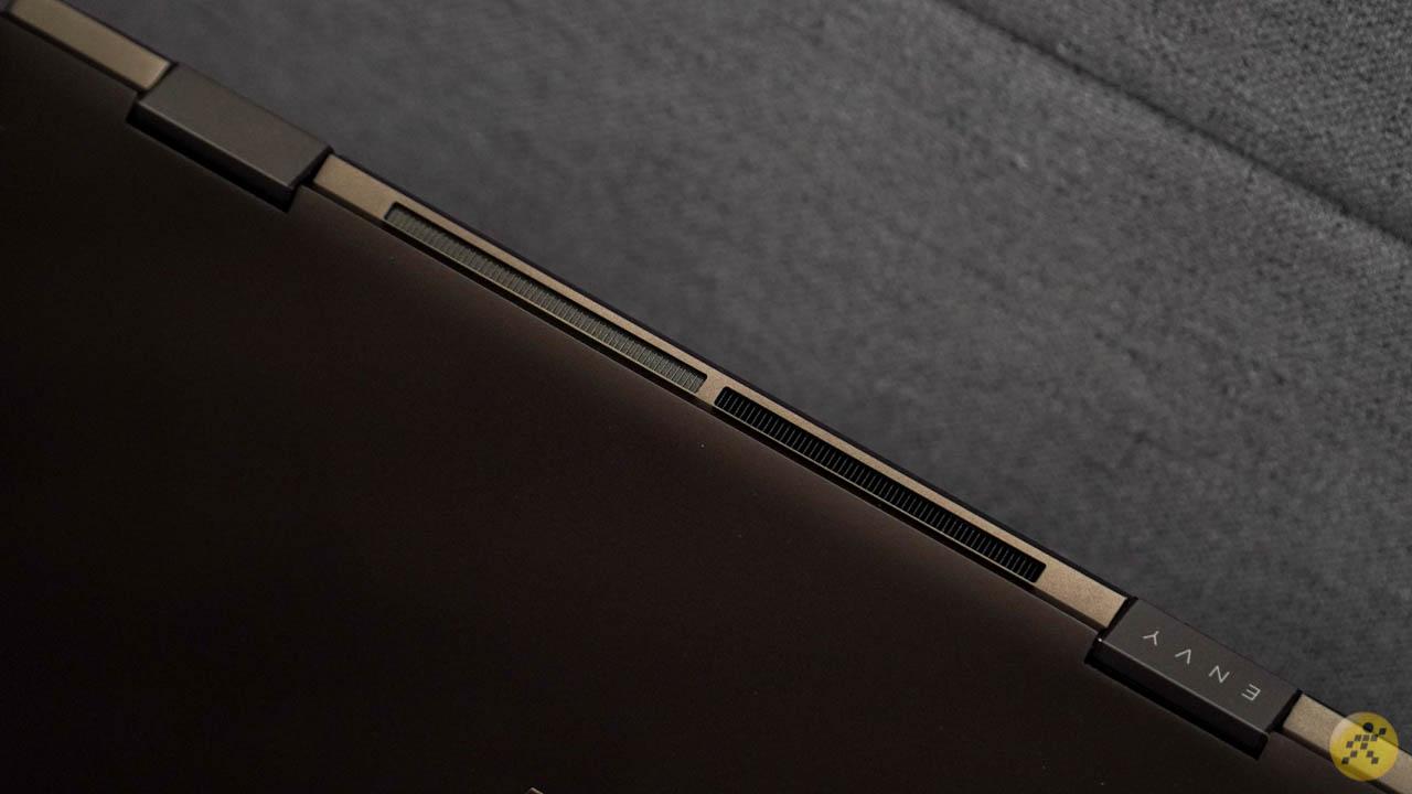 Thiết kế tản nhiệt của HP X360 13