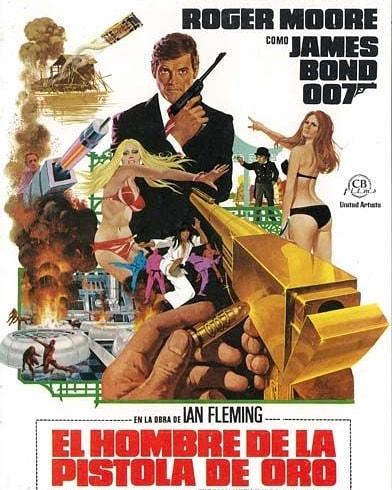 El hombre de la pistola de oro (1974, Guy Hamilton)