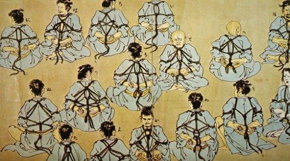 bondage giapponese esempi dell'hojo-jutsu