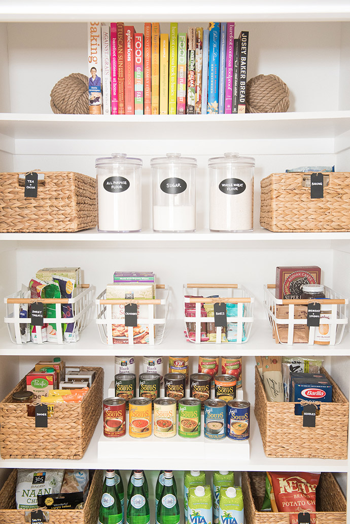 keep your house clean and organized by using a mix of storage solutions