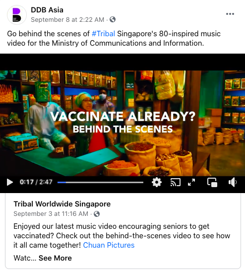 Digimind Blog - Tribal DDB Vaccination Campaign