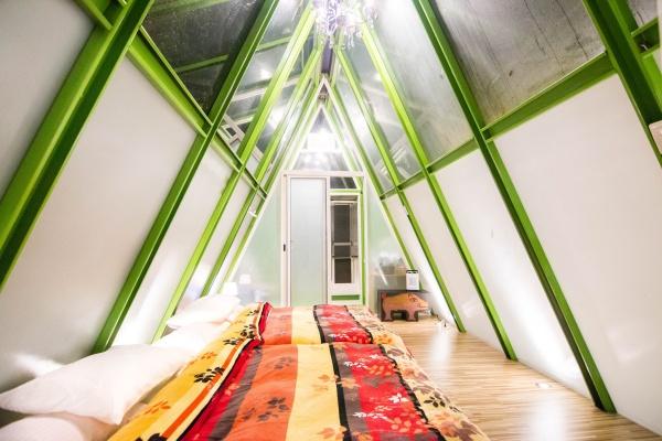 免裝備露營-阿里山-Hamoana星空帳篷