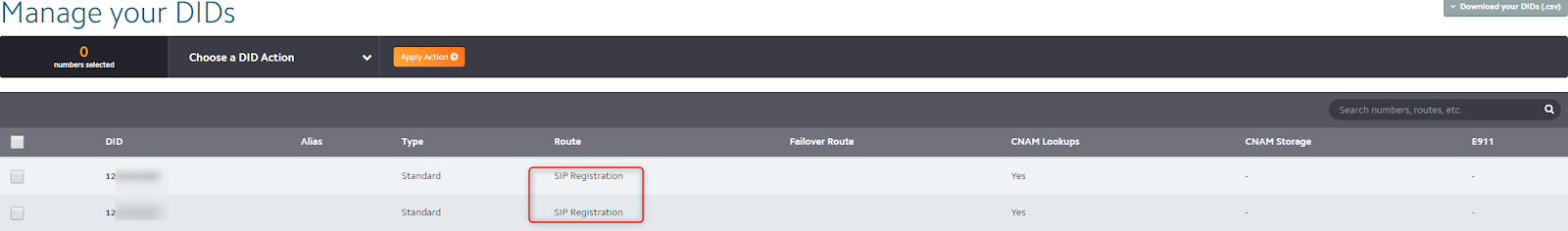 See the guide on how to setup US SIP Trunk Flowroute with 3CX