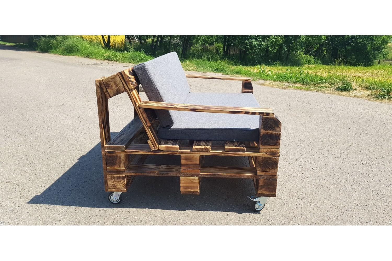 Самодельный диван из поддонов
