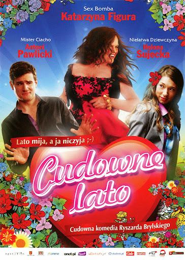 Przód ulotki filmu 'Cudowne Lato'