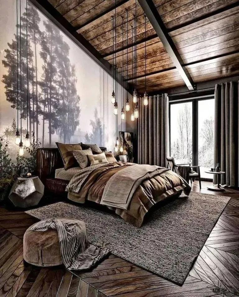 Cozy Industrial Bedroom Ideas
