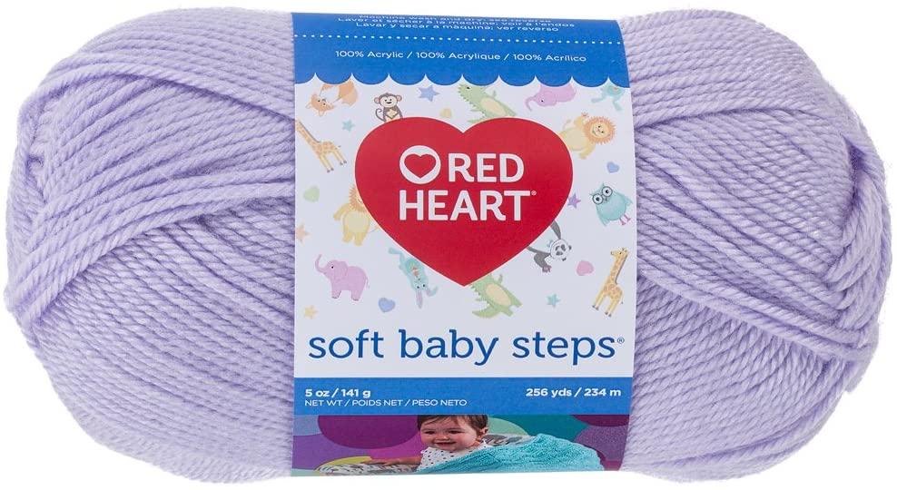 yarn for baby blankets--Red Heart Soft Baby Steps Yarn
