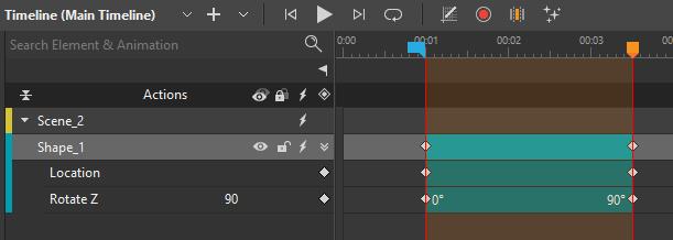 Create an animation using Auto-Keyframe Range