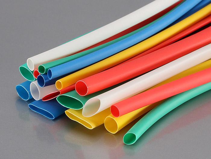 Разноцветные термоусадочные трубки