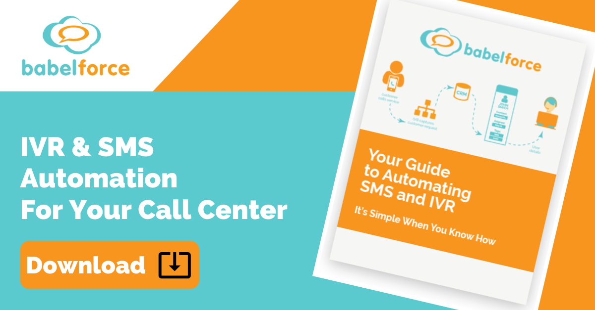 Download your free guide to IVR & SMS Automation for your Contact Center