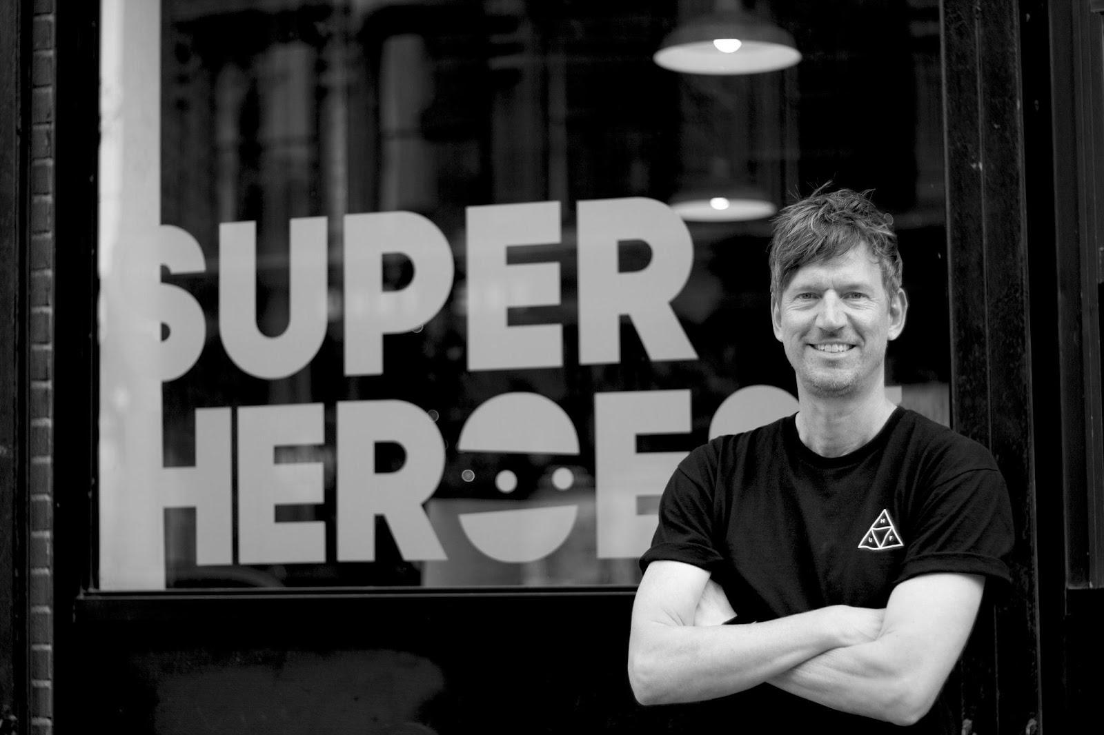 Rogier Vijverberg is one of the founders of SuperHeroes