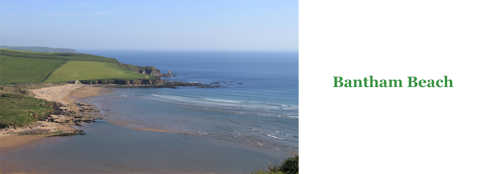 Bantham beach is an excellent choice for family fun while on holiday with Devon Farms.