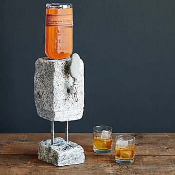 K'Mich Weddings - wedding planning - stone drink dispenser - uncommon goods