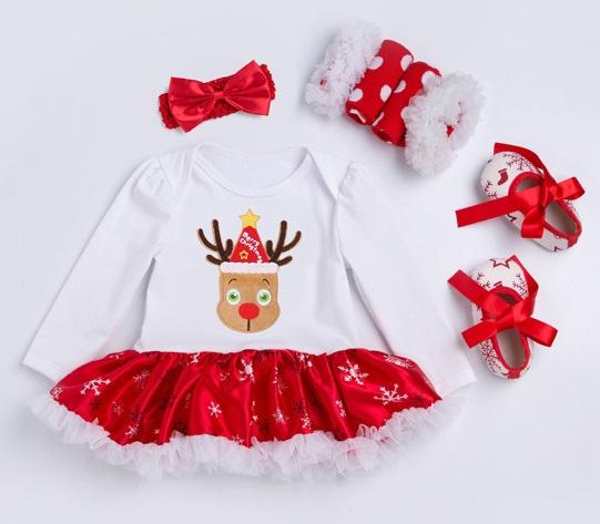 7e348e86 Piękne ubranka świąteczne dla niemowląt na święta Bożego Narodzenia ...